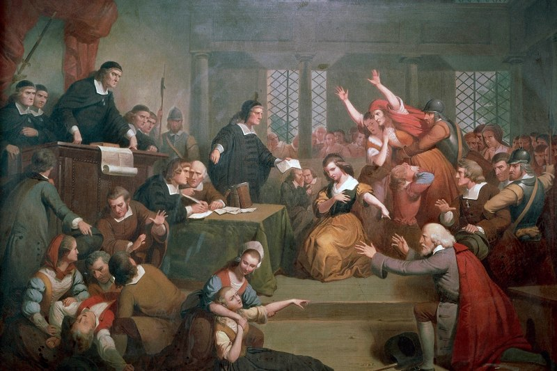 The trial of George Jacobs for witchcraft